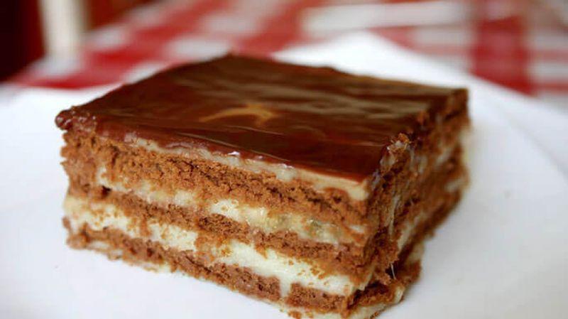 Шоколадные торты без выпечки рецепты из печенья
