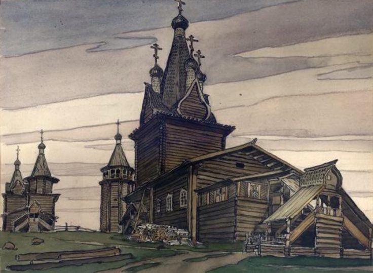 Русский Север в живописи знаменитых художников