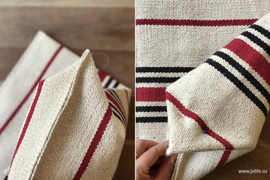 Мастер-класс: как сшить летнюю сумку из коврика