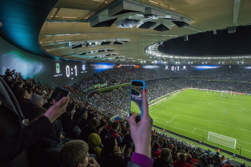 В Краснодаре открылся самый «умный» стадион Европы