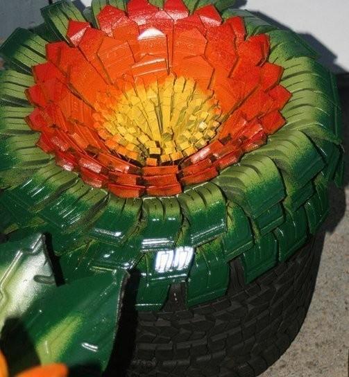 Умельцы, которые творят из шин