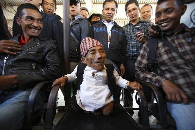Найден самый маленький человек в мире