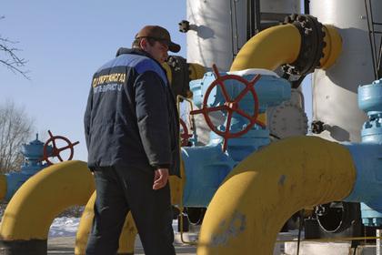 Украина из-за морозов резко увеличила отбор газа