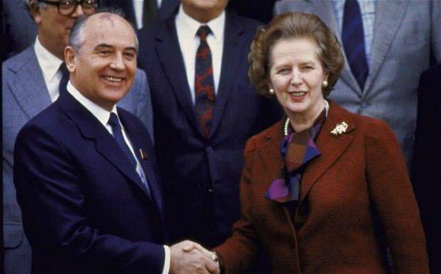 Доклад Маргарет Тэтчер о развале СССР (США, Хьюстон, 11.1991)