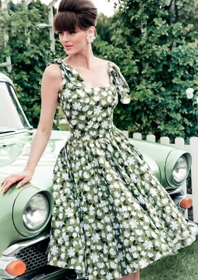 """Lena Hoschek """"A country Picnic"""" — очаровательные и женственные образы, как в 50-х"""