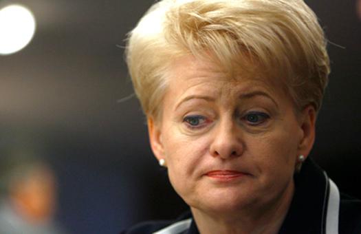 Президент Литвы признала сво…