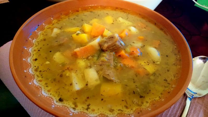 OBARA, густой суп по-бледски (Словения, г. Блед)