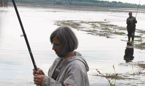 видео ловля язя на поплавочную удочку