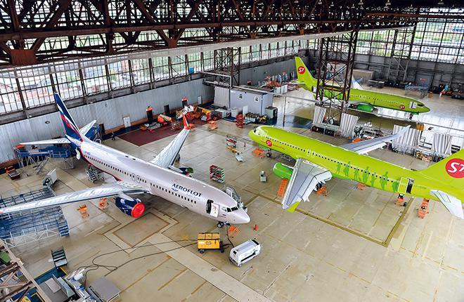 В России наблюдается нехватка мощностей для технического обслуживания и ремонта самолетов