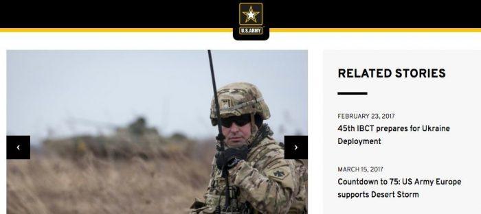 Проговорились:  Американская армия вводит войска на Украину