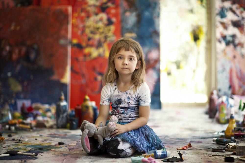 Аэлита Андре — самая юная художница на планете