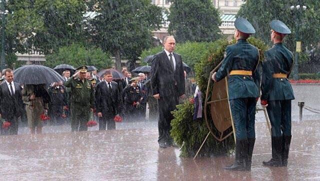 Путин и Порошенко. Когда не нужно лишних слов...