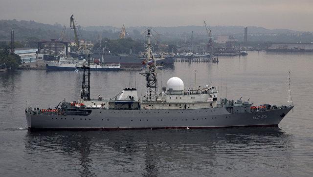 Fox News: у восточного побережья США заметили российский корабль-разведчик