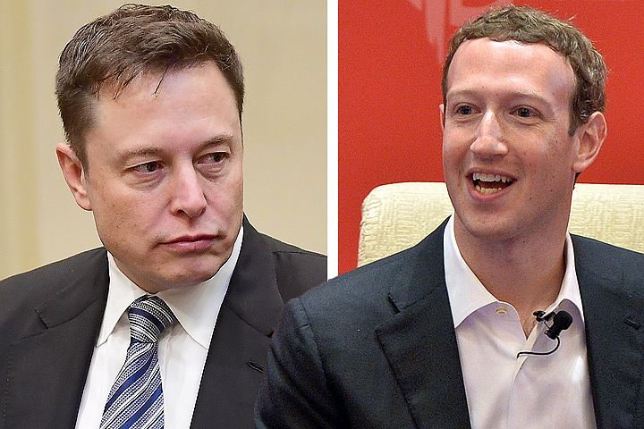 Илон Маск и Марк Цукерберг поспорили из-за конца света