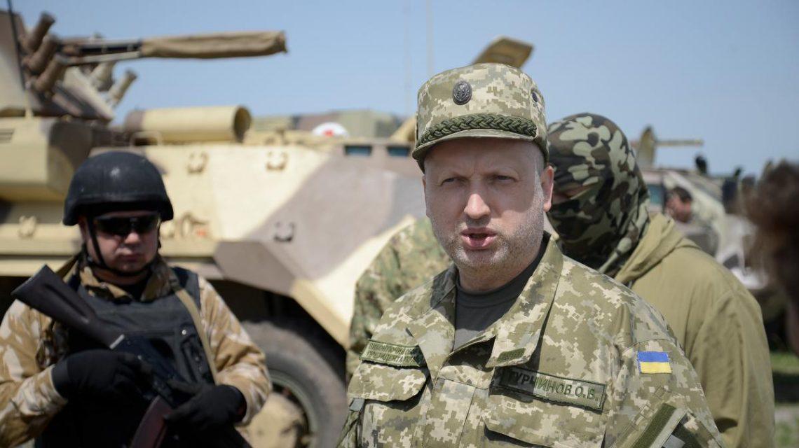 Турчинов рассказал как все было: Я давал приказ погранцам стрелять, а они — мы не будем стрелять по мирному населению