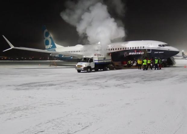 Boeing 737 нового поколения испытали якутскими морозами