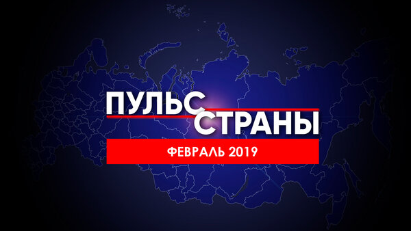 Состояние российской экономики в феврале 2019 г. «Пульс страны №2»