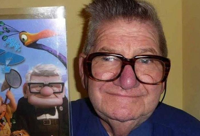 Эти люди как две капли воды похожи на героев популярных мультфильмов! (45 фото)