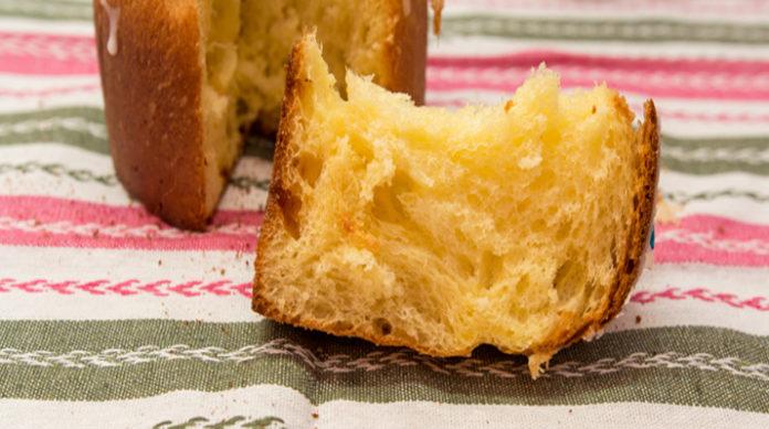 Вкусный пасхальный кулич «Кружевная баба»
