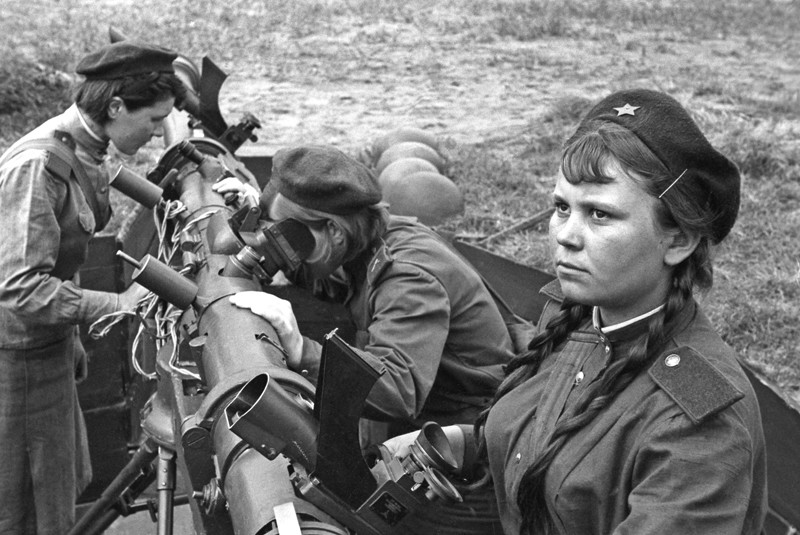 Подвиг сталинградских зенитчиц