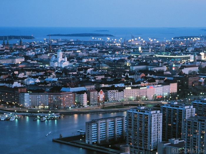 Хельсинки - столица Финляндии.