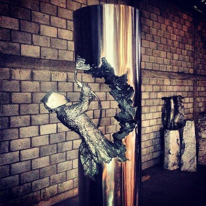 Скульптура Miller Man для компании  Miller Electric Welders.
