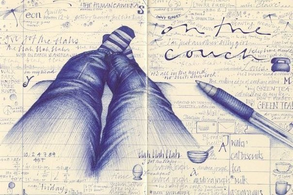 Что означают различные рисунки, которые мы не задумываясь вырисовываем на бумаге?