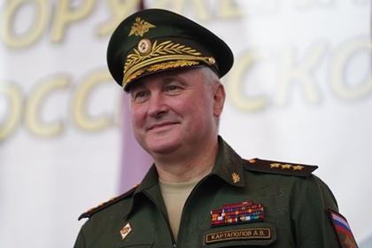 Группировку в Сирии возглавил командующий Западным округом генерал Картаполов