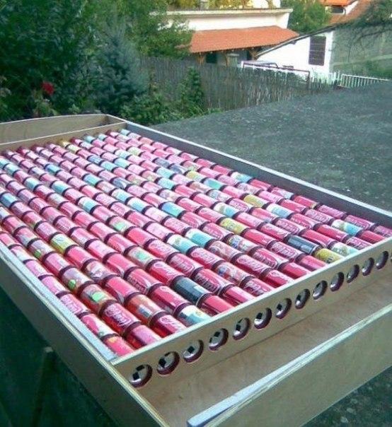 Солнечный коллектор из алюминиевых банок за 7 шагов