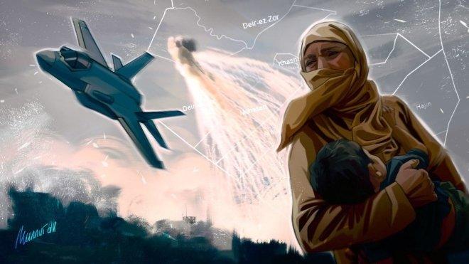 Из-за авиаударов ВВС США в С…