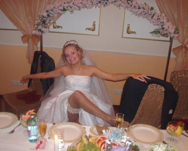 Фото ебли русских невест отличный