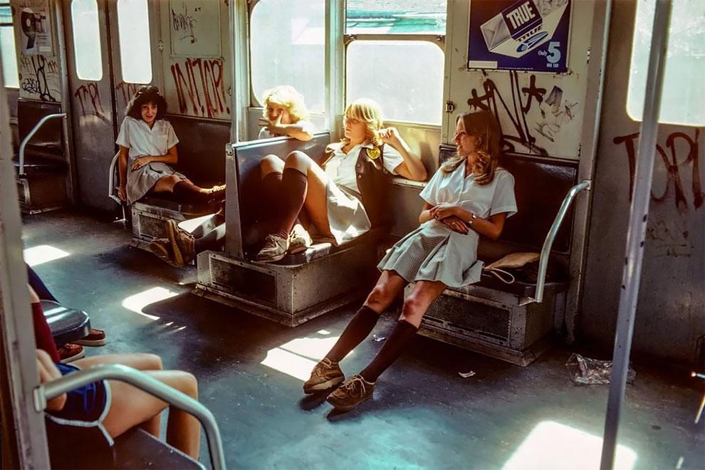 «Ад на колесах»: потрясающие фото нью-йоркского метро 80-х годов