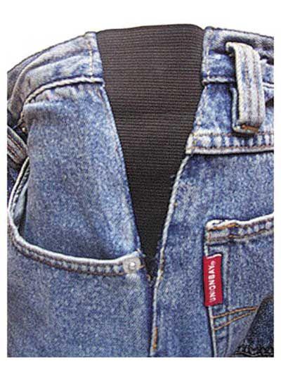Как расшить пояс в джинсах