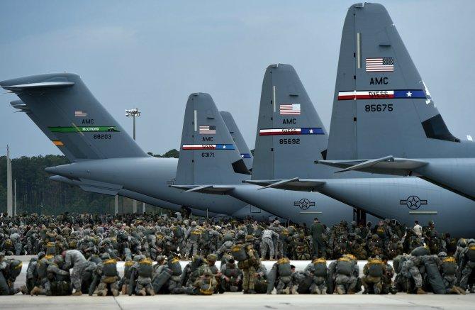Войска США расползлись по всей планете