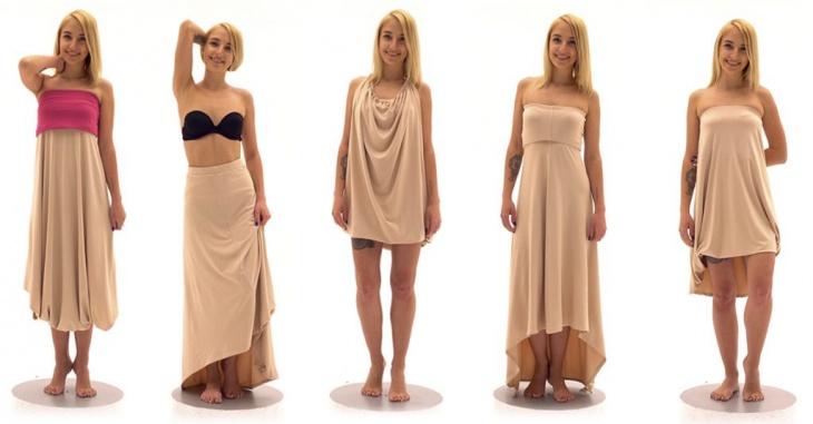 Супер платья - трансформеры Omnia  1 и 2