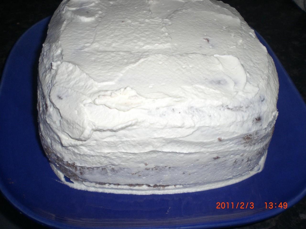 5 минут-Торт в микроволновке. Фото-рецепт. Рамзия