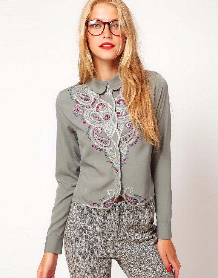 Блузки с машинной вышивкой 1 (трафик)