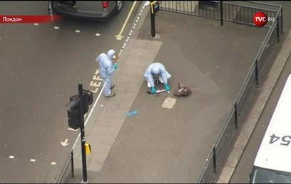 В центре Лондона поймали мужчину с ножами