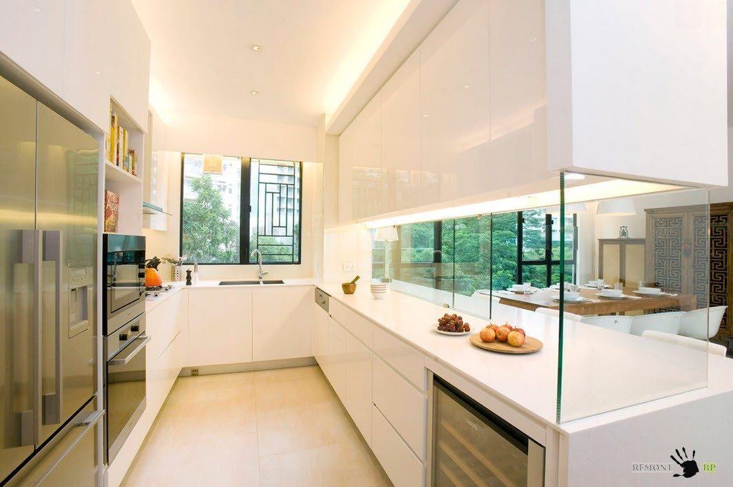 Перегородка как часть кухонного гарнитура