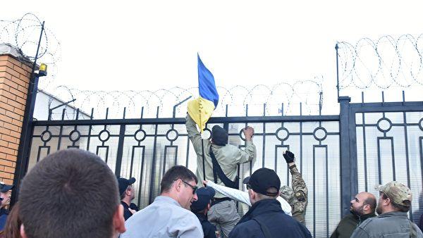 Во Львове депутаты облсовета призывают Порошенко закрыть генконсульство России