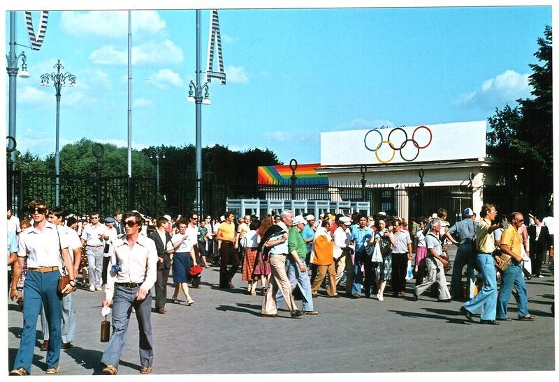Олимпийская Москва-80 глазам…