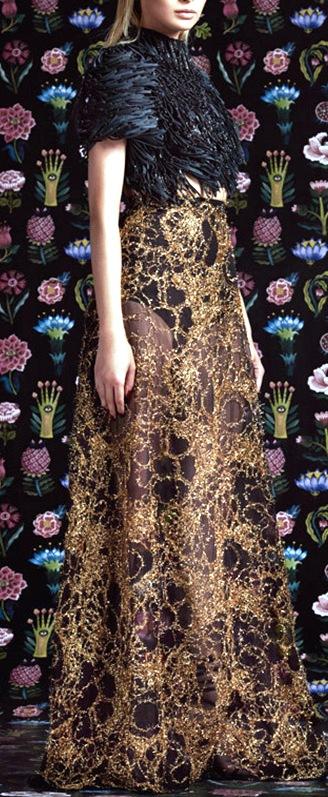 Rami Kadi Haute Couture осень-зима 2016-2017 — роскошная восточная сказка для современных принцесс