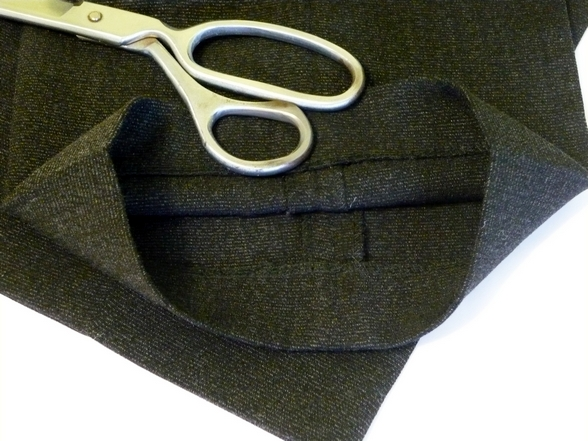 Как правильно подшить брюки вручную