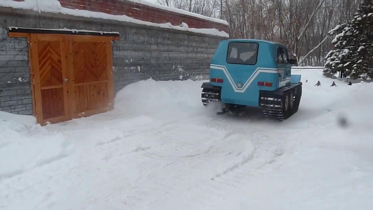 Необычный вездеход из русского Москвича!