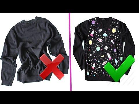 6 DIY Переделка одежды Идеи