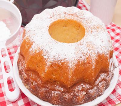 Заварной кекс рецепт фото