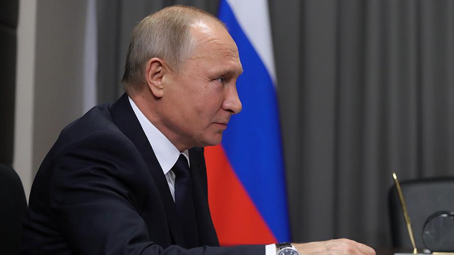 Путин назвал победным возвра…
