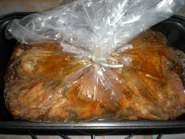 Изумительно красивое и вкусное мраморное мясо в желатиновой оболочке. Просто и эффектно