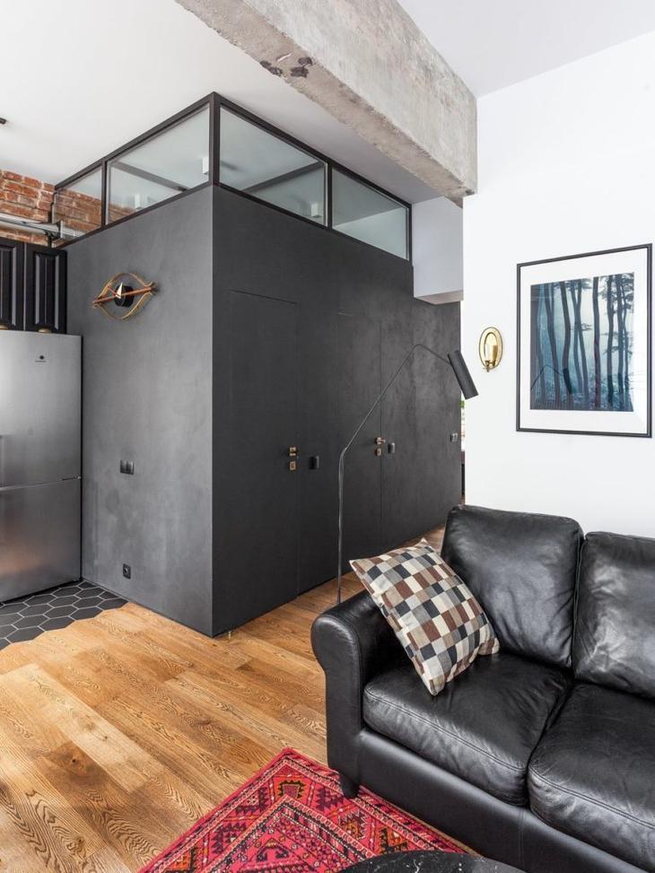 Вариант оформления двухкомнатной квартиры в сталинке