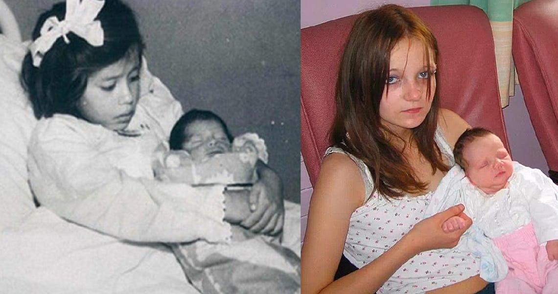 «Дети рожают детей». Молодые мамы, которые родили своих детей, даже не достигнув 12-летнего возраста